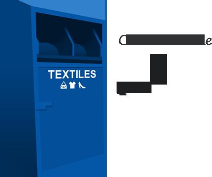 Colonne à textile