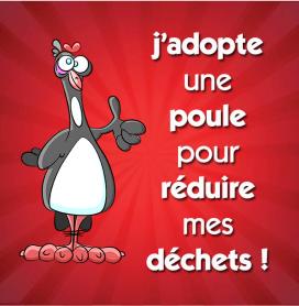 Martres de Veyre : J'adopte une poule pour réduire mes déchets