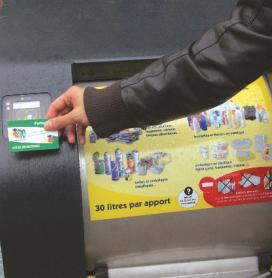 Châtel-Guyon : une carte pour ouvrir les P.A.V. et jeter ses déchets