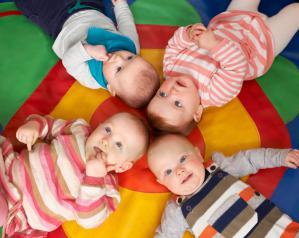 Des bébés zéro déchet.