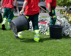 Un broyeur pour les déchets verts