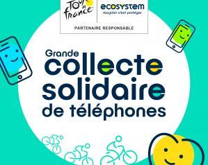 Collecte solidaire de téléphones