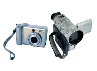 Caméscope, appareil photo