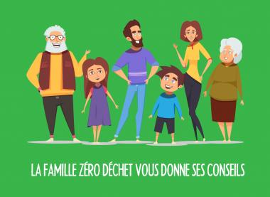 La famille Zérodéchet vous livre ses astuces